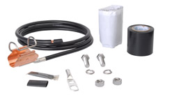 Andrew SGL5-15B4 SureGround® Grounding Kit for 7/8 in corrugated coaxial cable