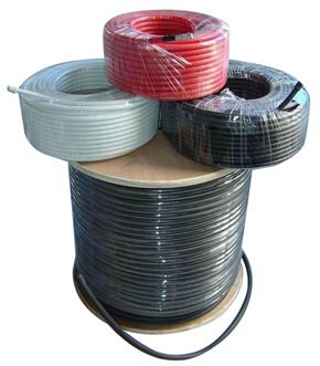fiber cable reels and coax cable reels
